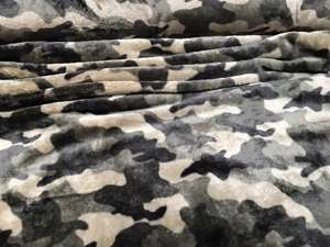 Koral fleece - camouflage