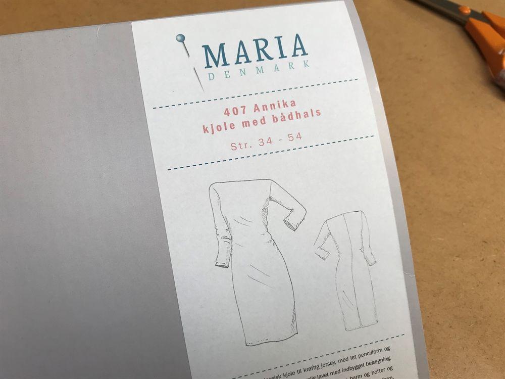 ef497b74 Karen kjolen - skøn draperet kjole