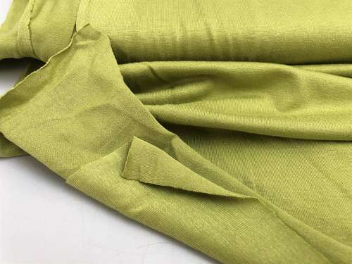 Viscosejersey - mat lime