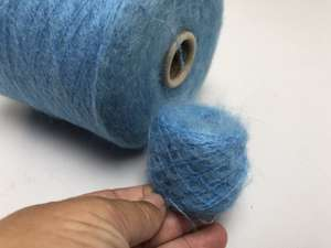 Kid mohair - ocean blue