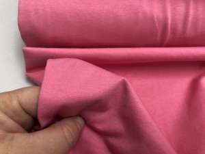 Bomuldsjersey - lys pink