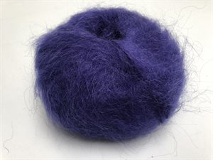 Bella by permin chunky mohair - smuk intens lilla