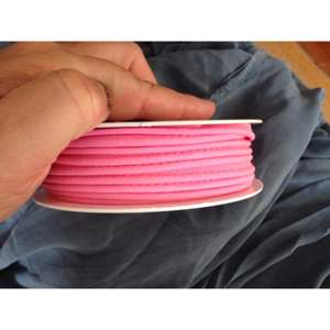 Fast piping - lys pink