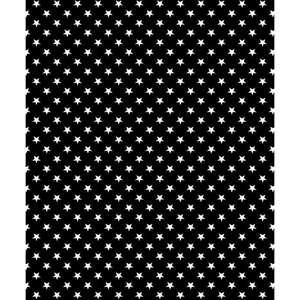 a5cc22fd7108 Bomuldsjersey - i sort med små hvide stjerner på