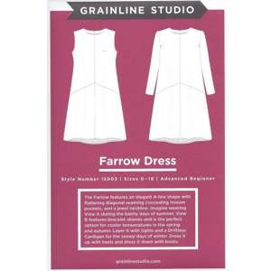 Farrow dress, grainline