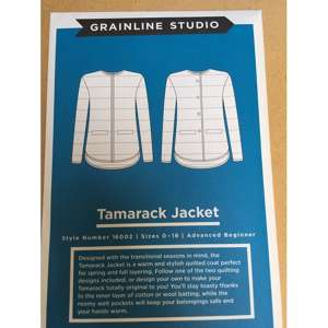 Tamarack jacket, grainline studio