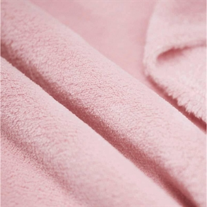 Koral fleece - lys rosa