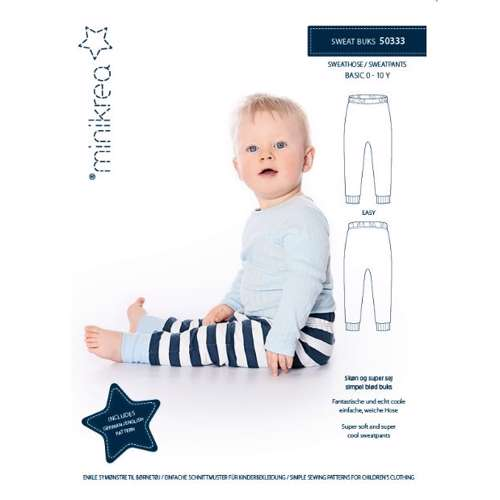 Minikrea - sweatpants 0-10 år