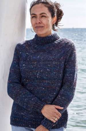 Kamma by Permin - sweater med rulle krave